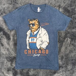 SWEATSHIRT HOODIE MIKE DITKA BEAR LOGO CHICAGO BEARS